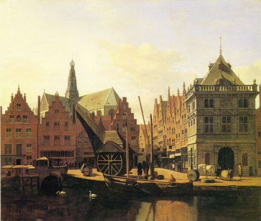 View of the River Spaarne