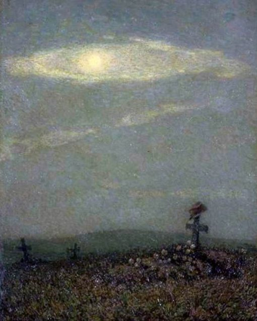 A Soldier's Tomb | Henri Le Sidaner | Oil Painting