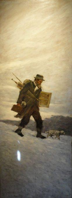 Portrait of the Painter Alphonse Chigot | Henri Le Sidaner | Oil Painting