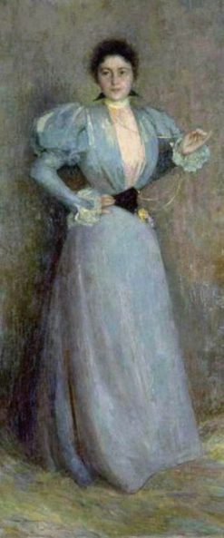 Portrait of Madame Piettre | Henri Le Sidaner | Oil Painting