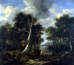 The Forest | Jacob van Ruisdael | Oil Painting