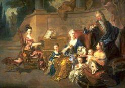 The Franqueville Family | Jean Francois de Troy | Oil Painting