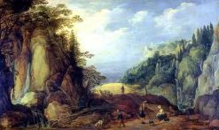 Landscape in the Mountains | Joos de Momper the Younger | Oil Painting