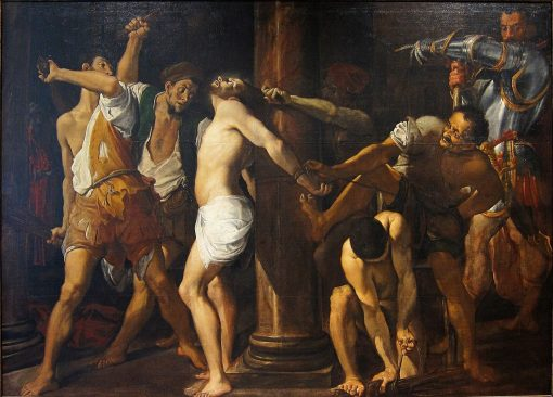 The Flagellation of Christ | Lodovico Carracci | Oil Painting