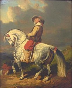 Cromwell | Alfred de Dreux | Oil Painting