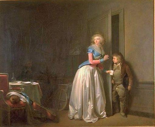 La Visite recue | Louis LEopold Boilly | Oil Painting