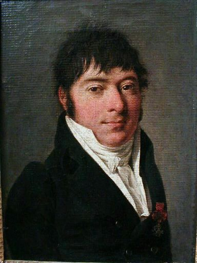 Portrait of a Man Wearing Blue | Louis LEopold Boilly | Oil Painting