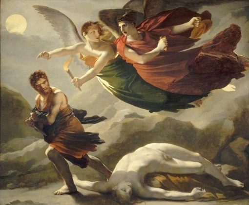 Justice and Vengeance Pursuing Crime | Pierre Paul Prud'hon | Oil Painting