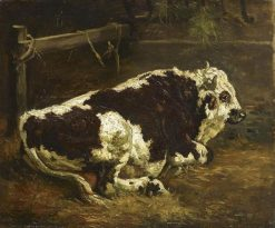 Bull Resting | Constant Troyon | Oil Painting