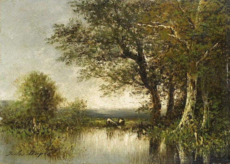Paysage (Landscape) | Jules DuprE | Oil Painting