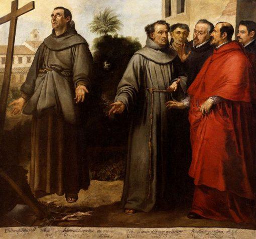 Saint Didacus of Alcala de Henares | BartolomE Esteban Murillo | Oil Painting