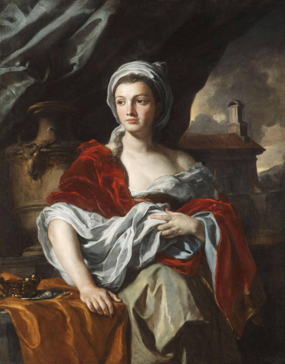 Allegorical Portrait | Francesco Solimena | Oil Painting