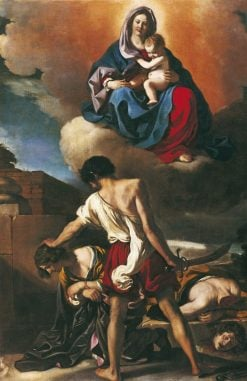The Martyrdom of Saints John and Paul | Guercino | Oil Painting