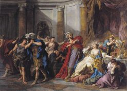 The Death of Creusa | Jean Francois de Troy | Oil Painting