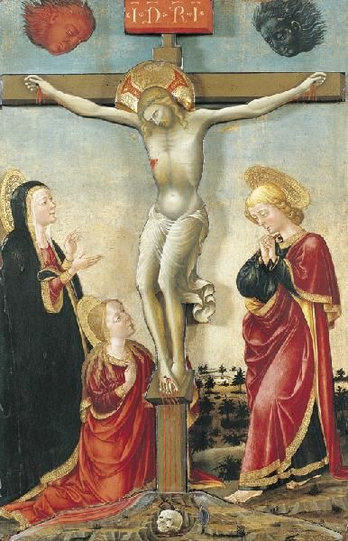 Crucifixion | Lorenzo Monaco | Oil Painting