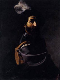 A Soldier   Nicolas Tournier   Oil Painting
