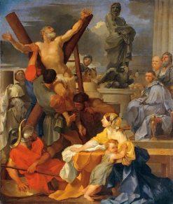 The Martyrdom of Saint Andrew | Sebastien Bourdon | Oil Painting