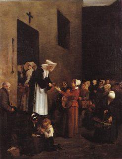 La Charité | Francois Bonvin | Oil Painting