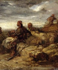 Arab Warriors | Alexandre Gabriel Decamps | Oil Painting