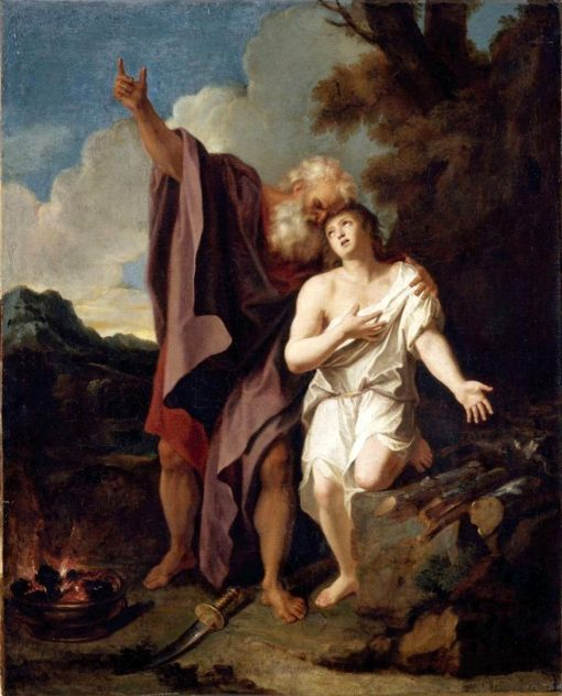 The Sacrifice of Abraham   Antoine Coypel II   Oil Painting