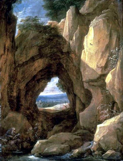 Meditation in a Cave | David Teniers II | Oil Painting