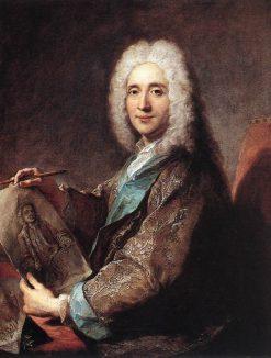 Portrait of Jean de Jullienne   Francois de Troy   Oil Painting