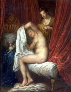 Le Lever (after Watteau) | French School th Century   Unknown | Oil Painting