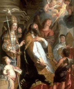 Saint Augustine in Ecstasy | Gaspard de Crayer | Oil Painting