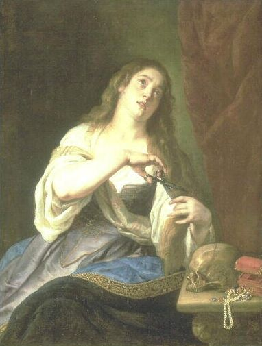 Magdalen Renouncing all Vanities to the World | Gaspard de Crayer | Oil Painting