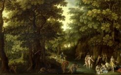 Diana and Actaeon | Giuseppe Cesari | Oil Painting