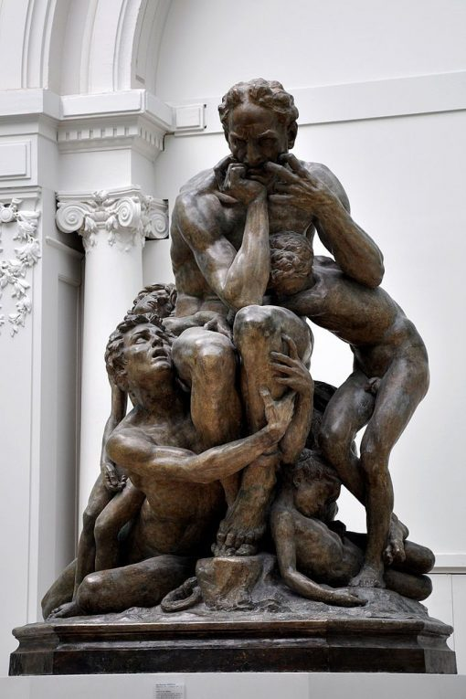 Ugolin et ses infants (Ugolino and His Children) | Jean Baptiste Carpeaux | Oil Painting