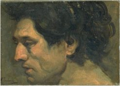 Head of a Man | Jean Baptiste Carpeaux | Oil Painting