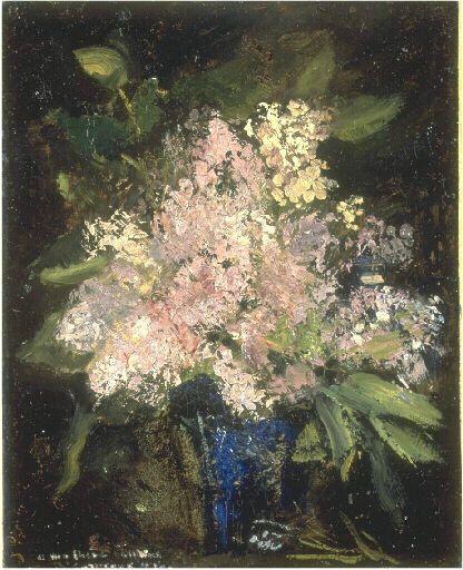 Lilies   Jean Baptiste Carpeaux   Oil Painting