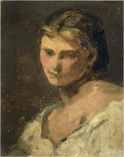 Young Woman | Jean Baptiste Carpeaux | Oil Painting