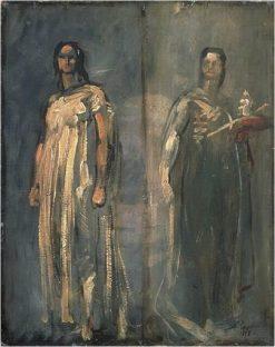 Jeunes Transteverines | Jean Baptiste Carpeaux | Oil Painting