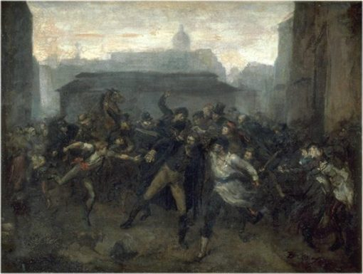 A Scene from the Siege of Paris | Jean Baptiste Carpeaux | Oil Painting