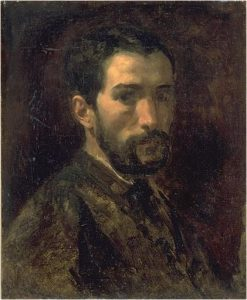 Portrait of Charles Francois Sellier | Jean Baptiste Carpeaux | Oil Painting
