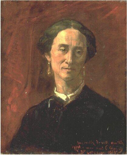 Portrait of Madame Blagny | Jean Baptiste Carpeaux | Oil Painting