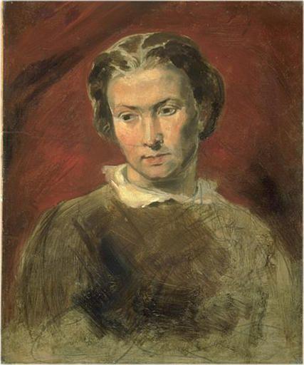 Portrait of a Young Woman called 'La Gouvernante' | Jean Baptiste Carpeaux | Oil Painting