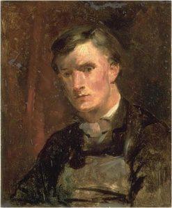Portrait of a Young Man called 'Le Précepteur' | Jean Baptiste Carpeaux | Oil Painting