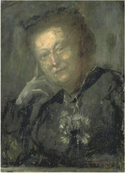 Portrait of the Vicomtesse de Montfort | Jean Baptiste Carpeaux | Oil Painting