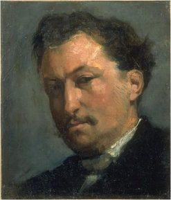 Presumed portrait of Théophile Hyacinth Bouillon | Jean Baptiste Carpeaux | Oil Painting