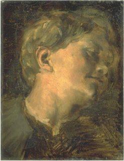 Head of a Child | Jean Baptiste Carpeaux | Oil Painting