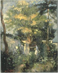 Garden in the Summer | Jean Baptiste Carpeaux | Oil Painting