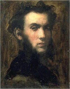 Presumed Portrait of Lawyer Henry Didier | Jean Baptiste Carpeaux | Oil Painting