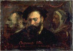 Souvenir d'un voyage au chemin de fer | Jean Baptiste Carpeaux | Oil Painting