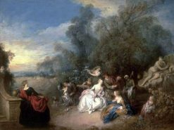 Relaxation in the Countryside | Jean Baptiste Pater | Oil Painting