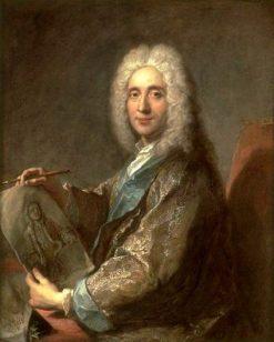Portrait of Jean de Julienne   Jean Francois de Troy   Oil Painting