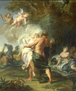 The Abduction of Amyone by Neptune | Noel Nicolas Coypel III | Oil Painting