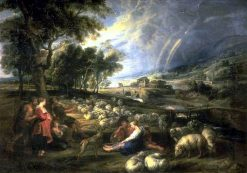 Landscape with Rainbow | Peter Paul Rubens | Oil Painting